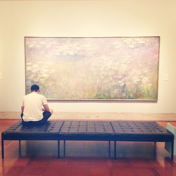Monet's Water Lilies (Taken with Instagram at Nelson-Atkins Museum of Art)
