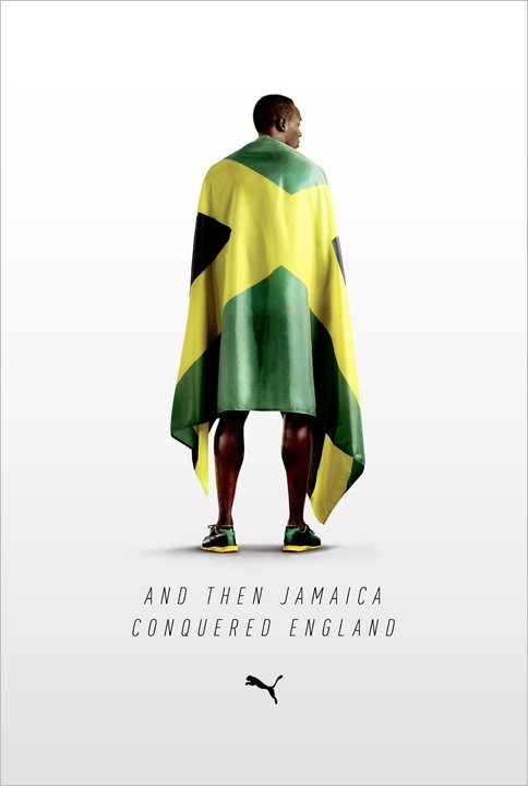 jaymug: Puma - And then Jamaica conquered England. What goes around comes around.