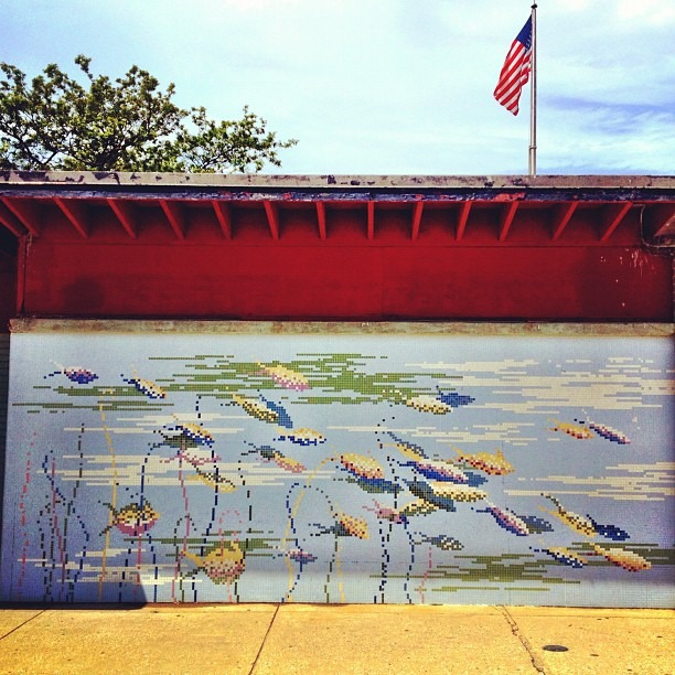 #Fish Mural (Taken with Instagram)