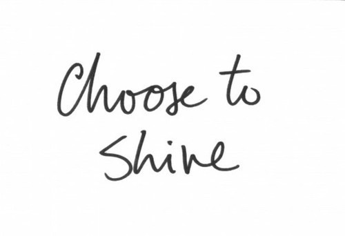 jaymug: Choose to shine. Bright fame.