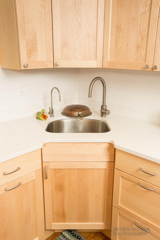Kitchen Portfolio — Boston Building Resources on Natural Maple Cabinets With Quartz Countertops  id=92661