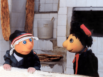 Redhat and Cousin (Iraj Tahmasb, 1994)