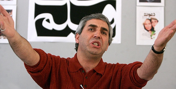 Ebrahim Hatamikia, possibly complaining about Abbas Kiarostami