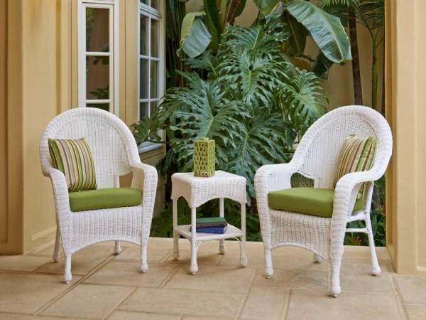 white wicker patio furniture North Cape Wicker Outdoor Patio Furniture — Oasis Outdoor