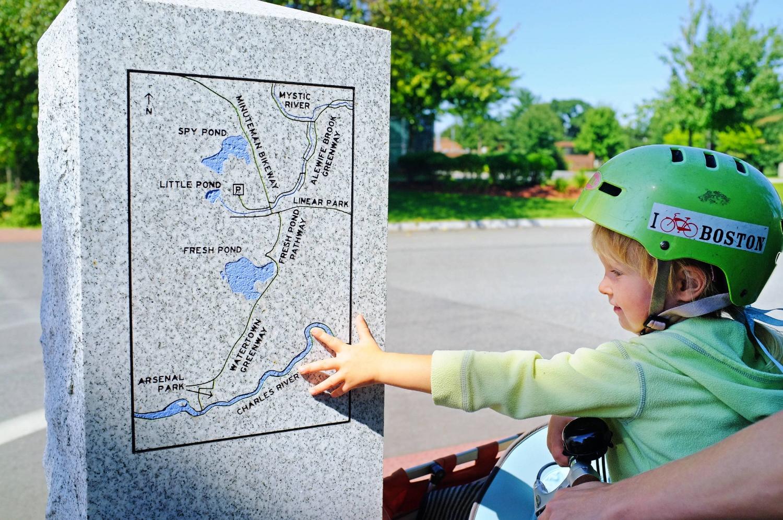Trail Loop Shenandoah Map of loop