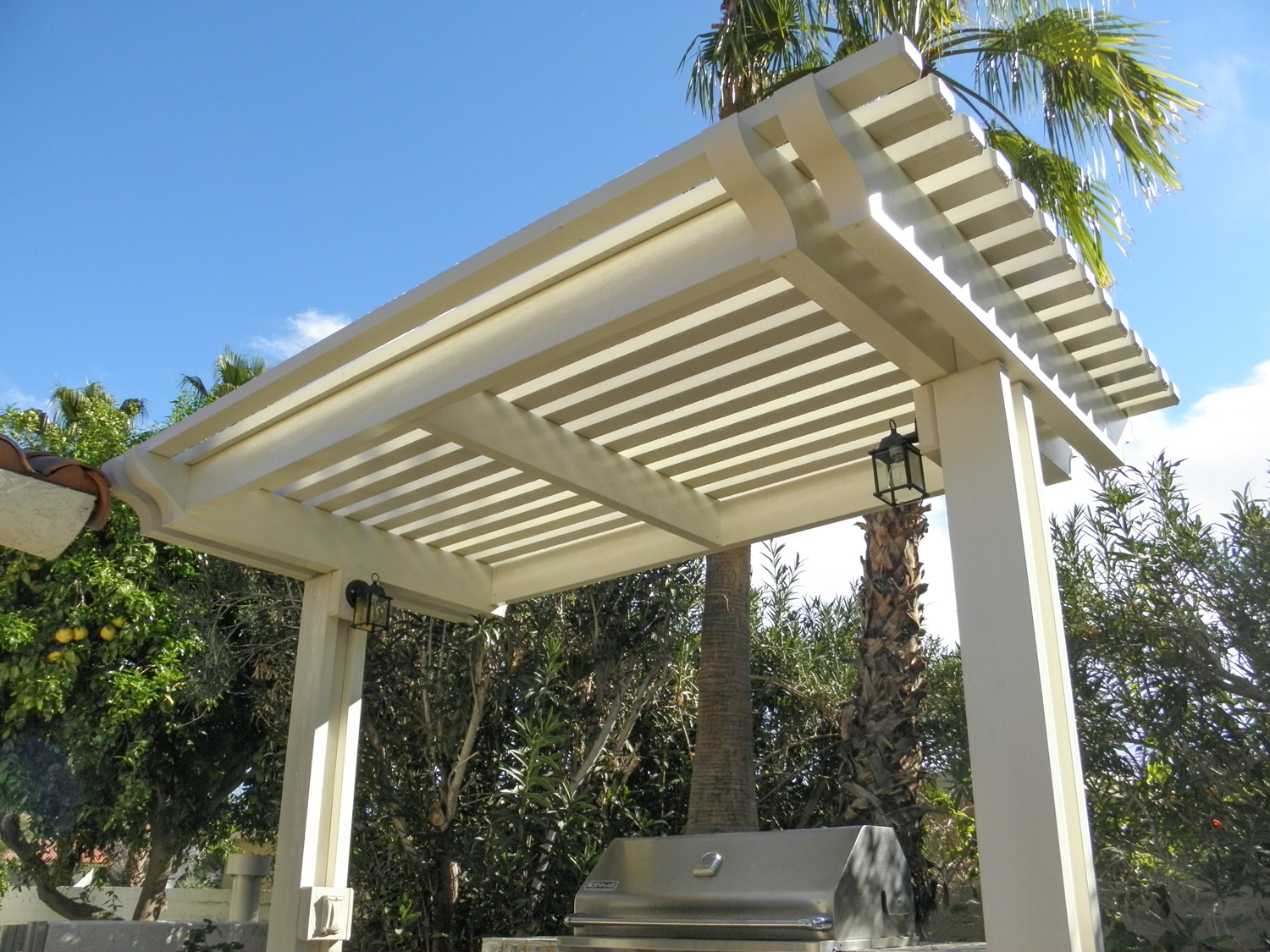 Patio Cover Ideas | Shade Structures | Patio Covers ... on Backyard Patio Cover Ideas  id=39098