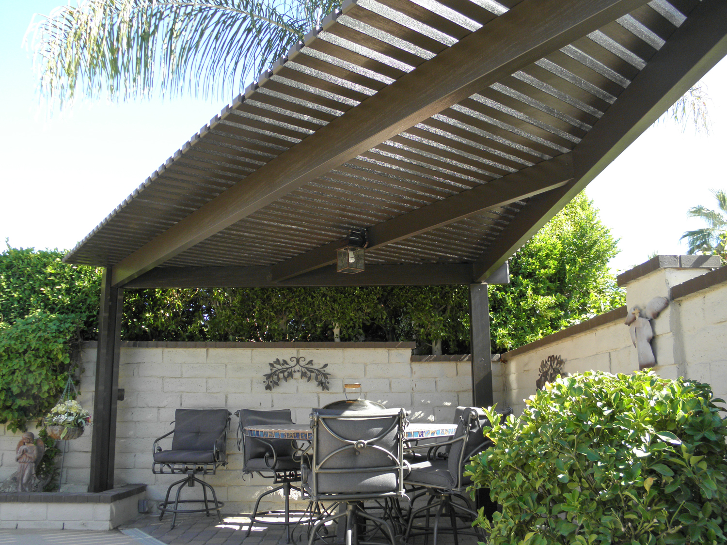 Patio Cover Ideas | Shade Structures | Patio Covers ... on Backyard Patio Cover Ideas  id=95599