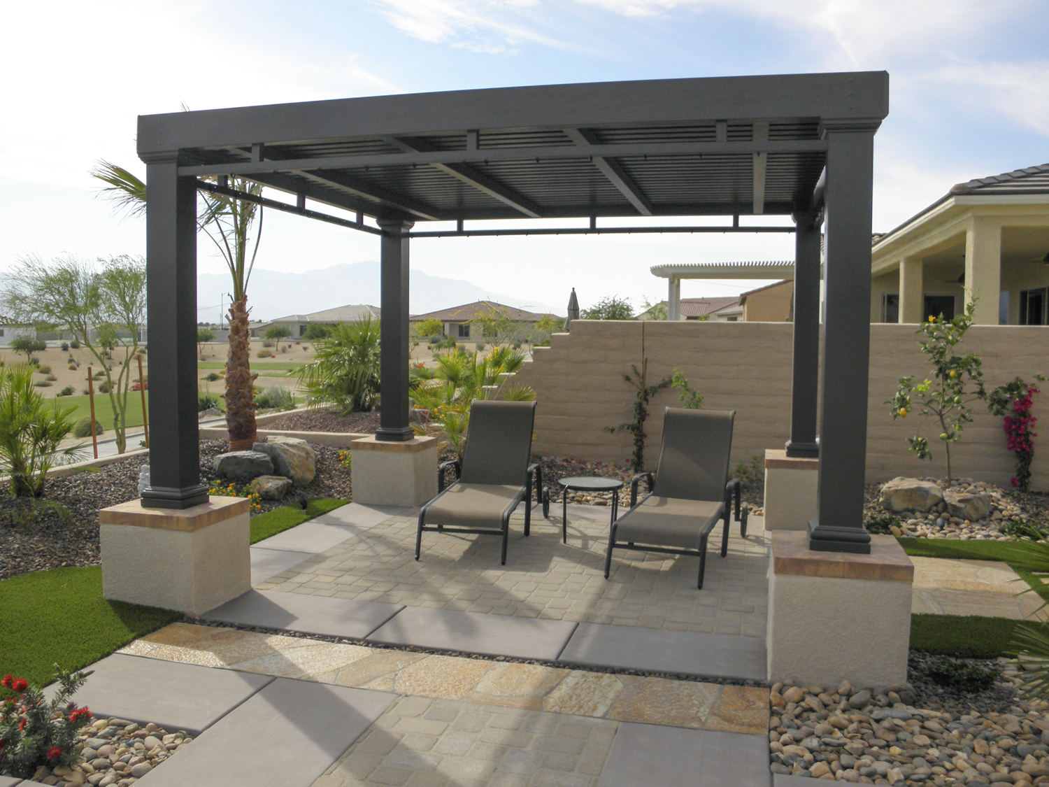 Patio Cover Ideas | Shade Structures | Patio Covers ... on Backyard Patio Cover Ideas  id=55697
