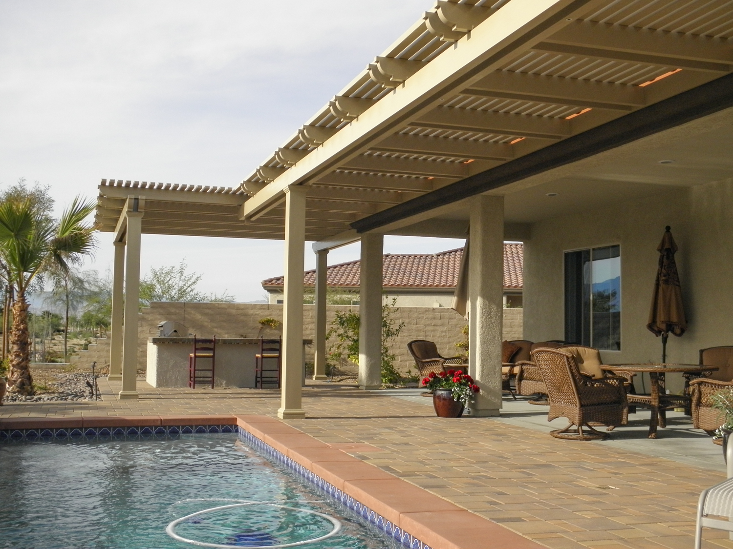 Patio Cover Designs| Patio Ideas | Valley Patios | Palm ... on Patio Covers Ideas  id=44907