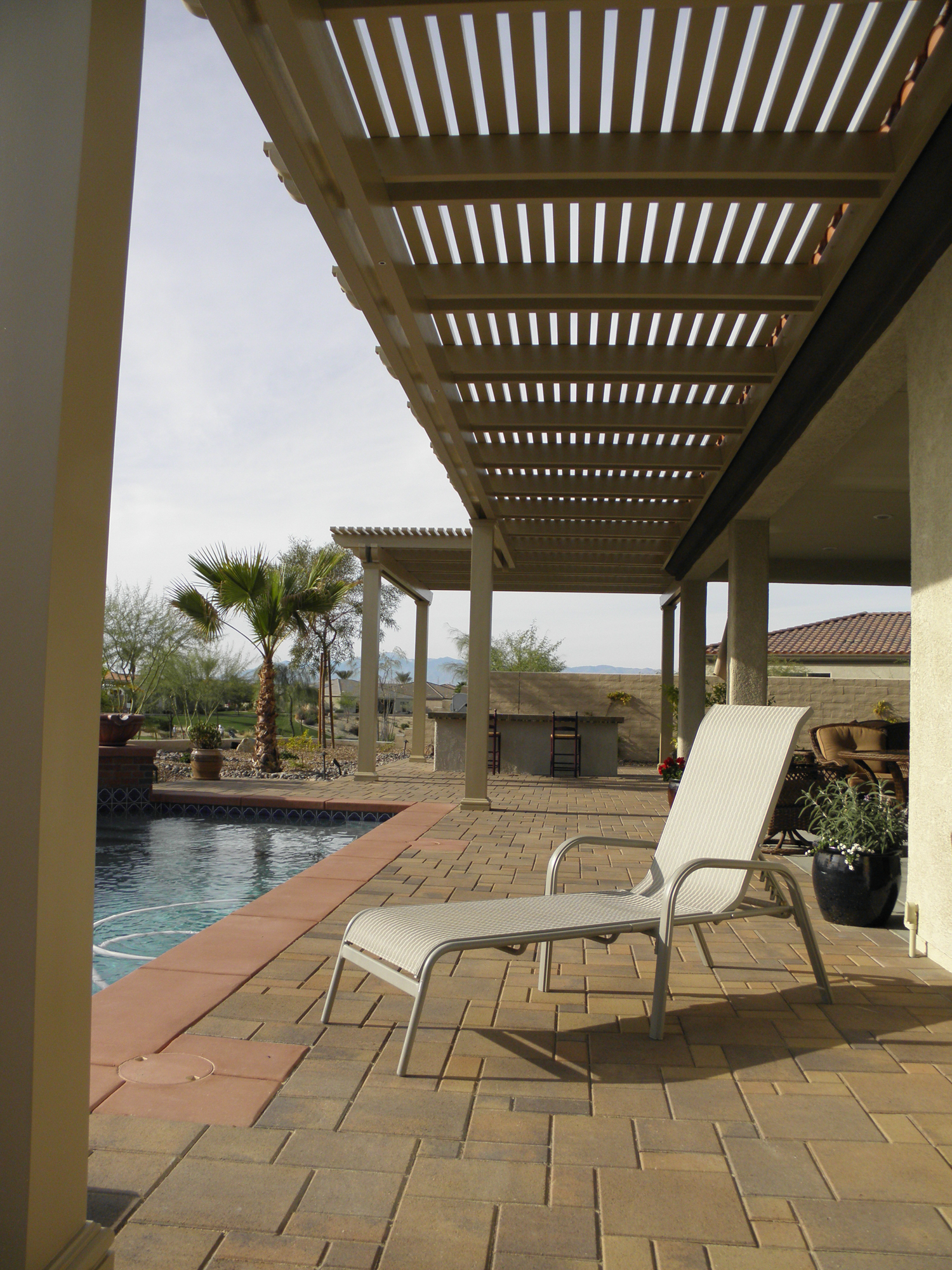 Weatherwood and Aluminum-Wood Patio Cover Products by ... on Patio Cover Ideas Wood id=40894