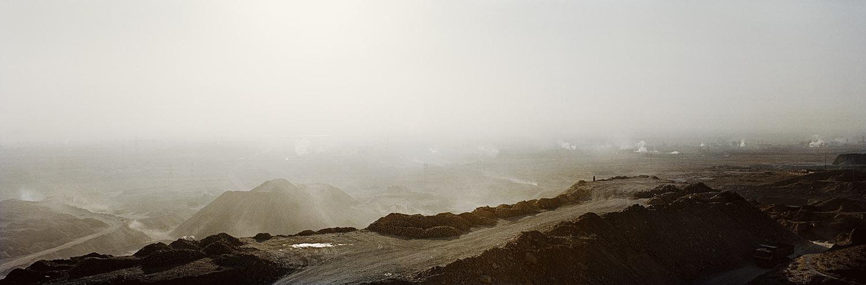 Quarry. Shizuishan, Inner Mongolia, China.
