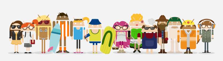 Existem mais de 18 mil modelos de dispositivos diferentes a correr Android 1