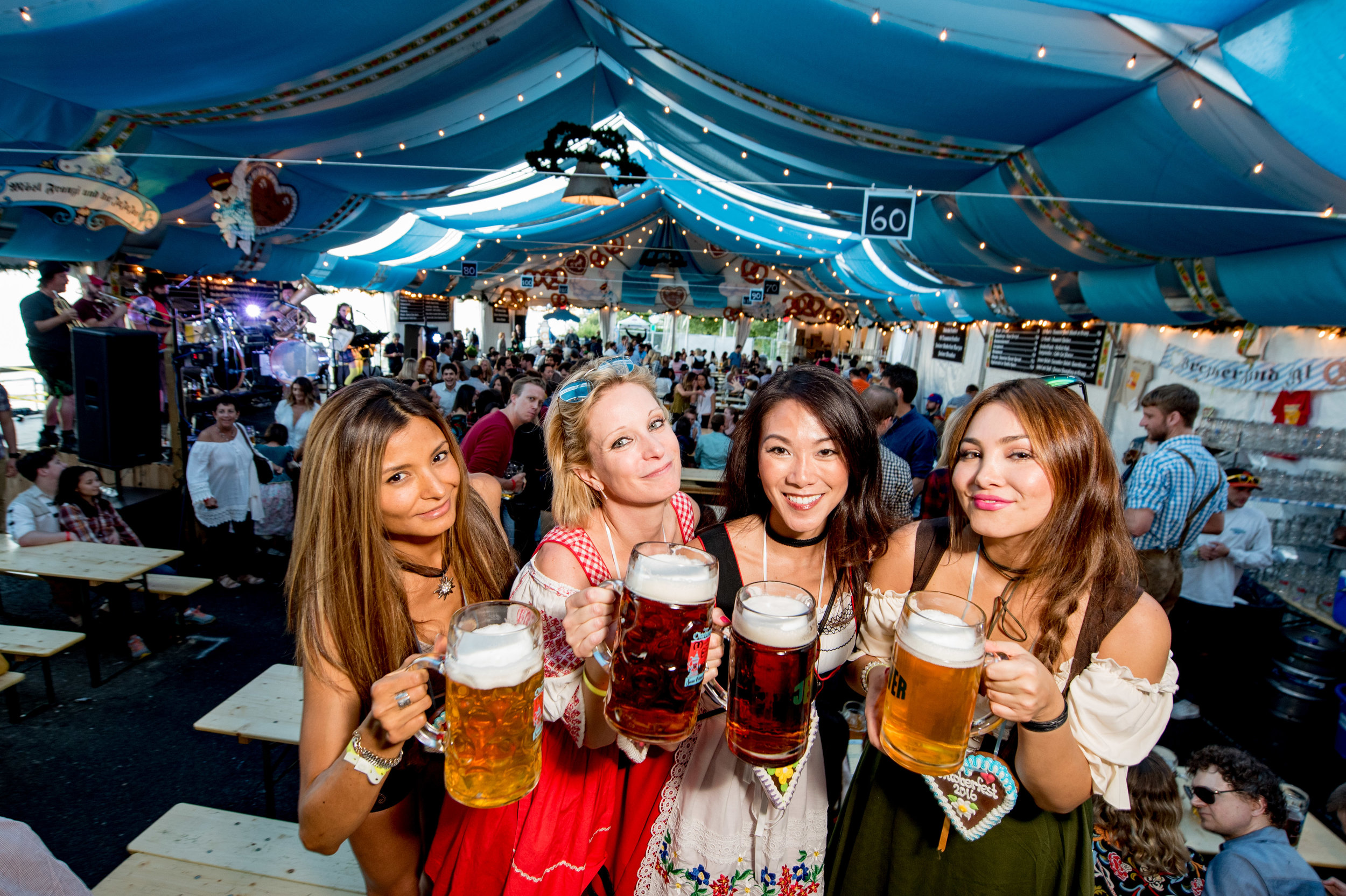 Oktoberfest Tent   Munich on the East River   in NYC     Zum Schneider     zum schneider nyc 2016 oktoberfest 4293 jpg