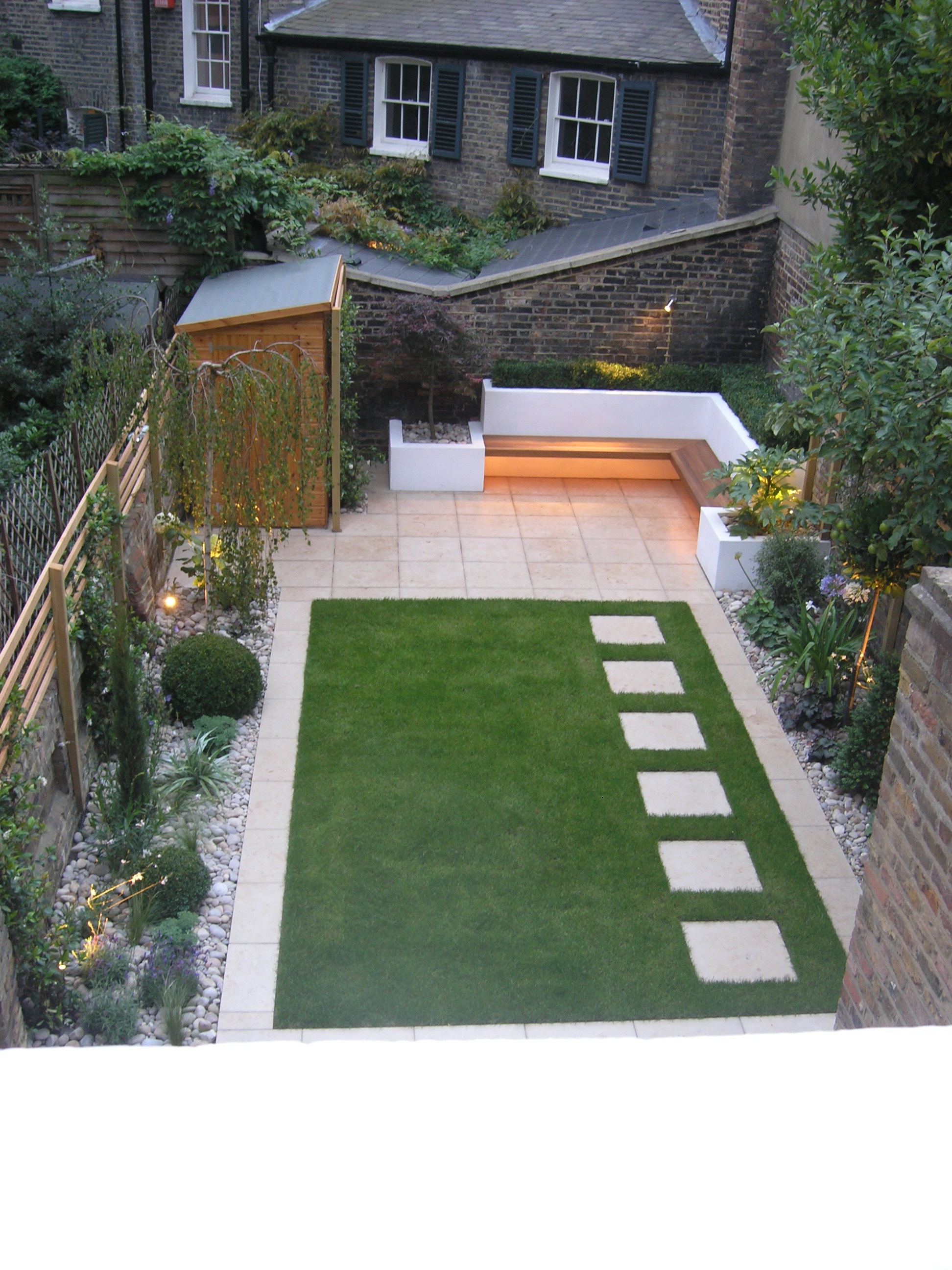 Canonbury garden — Living Gardens on Landscape Garden Designs For Small Gardens id=27443