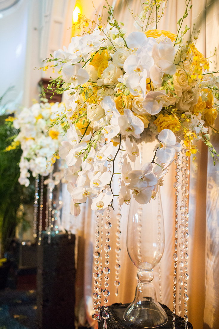 White And Yellow Wedding ArtQuest Flowers
