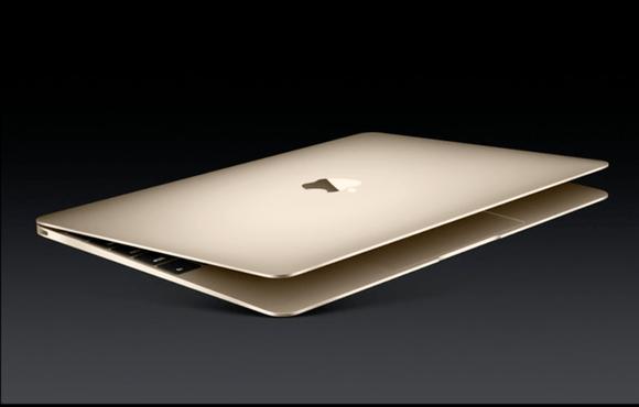New MacBook in Gold