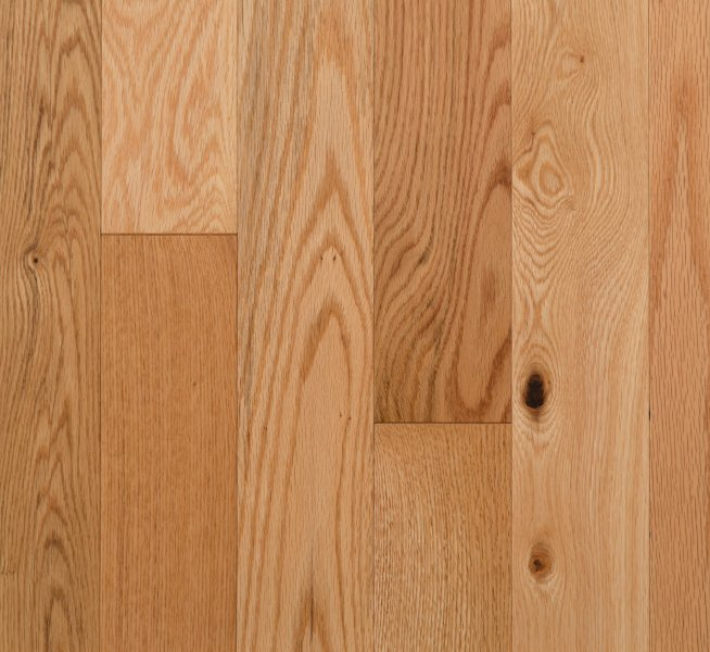 Natural Red Oak     Boardwalk Hardwood Floors Natural Red Oak