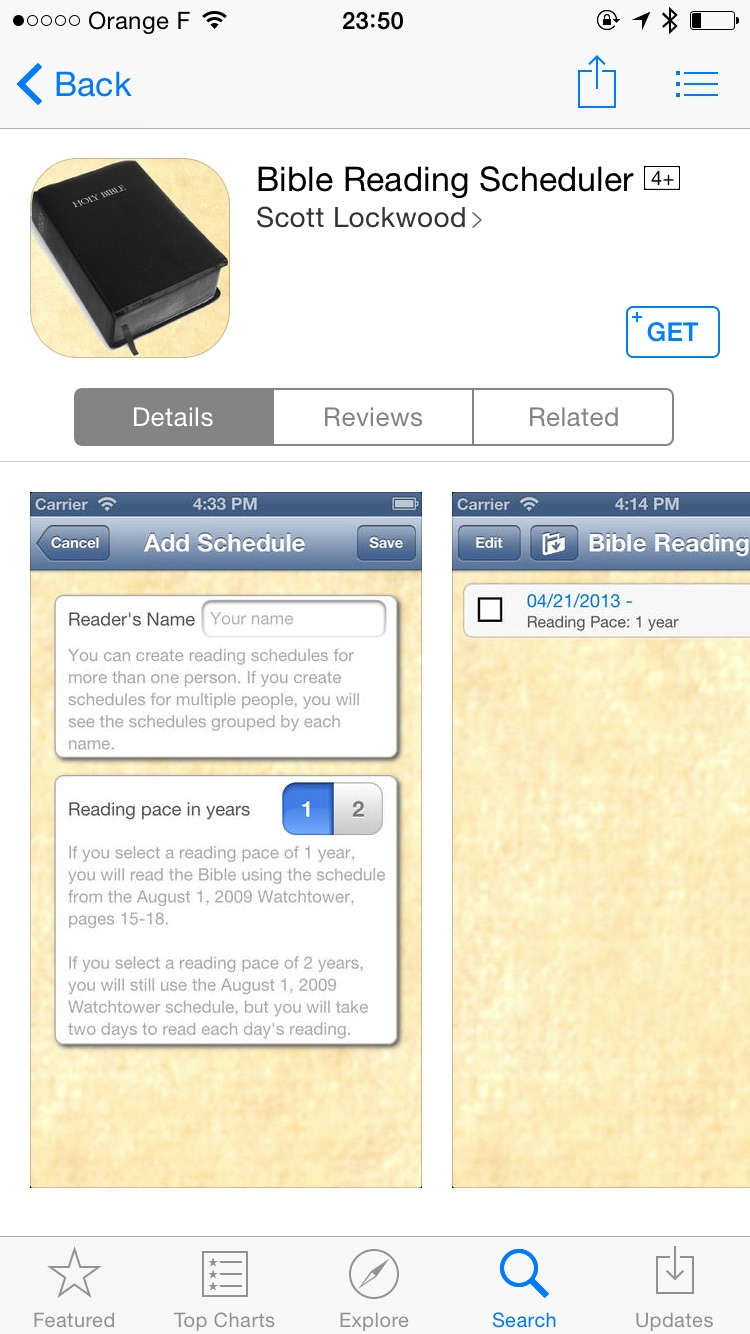 Managing your Bible reading – there's an app for that