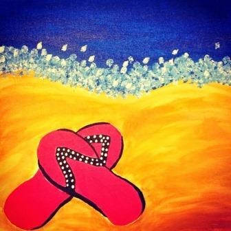 Here is Natalie's work of art..