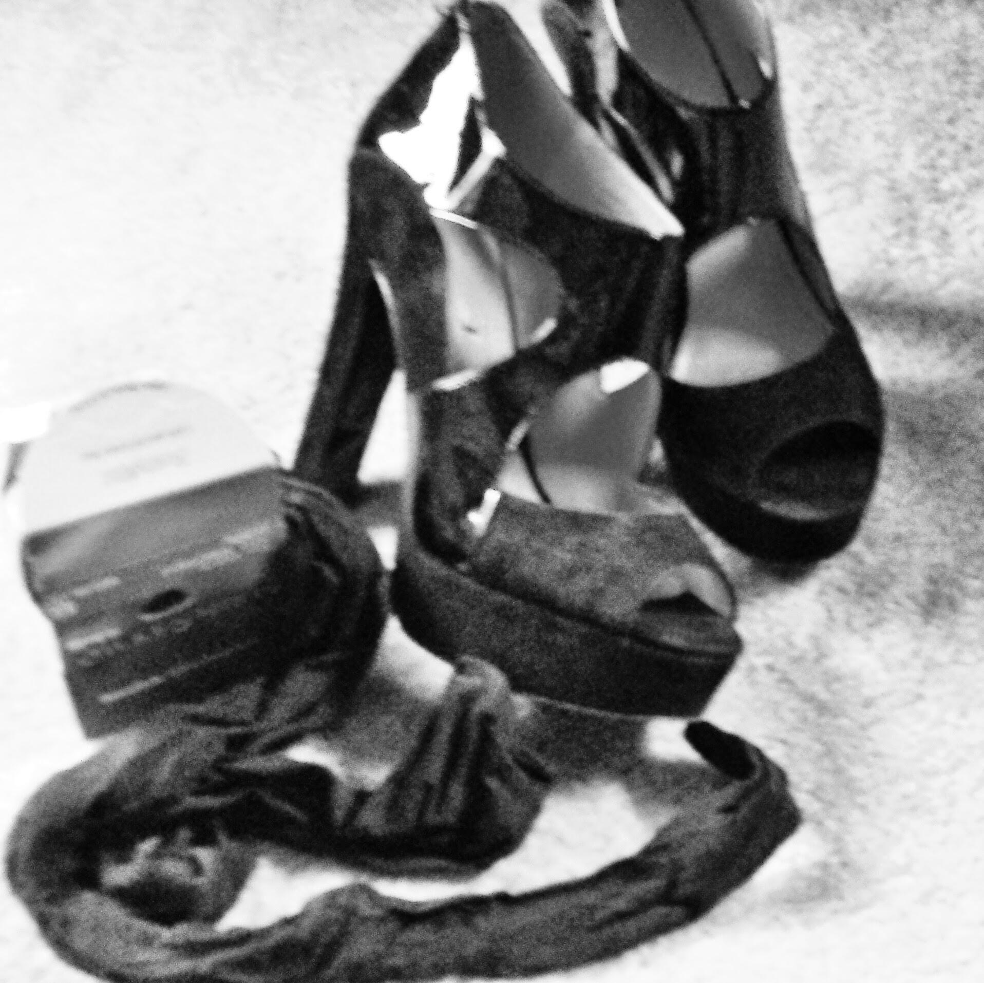 Black Shoes Black Tights...