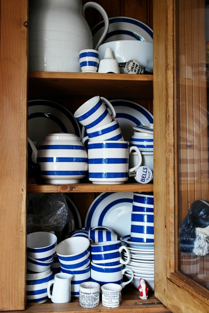 Collection of blue & white ceramics