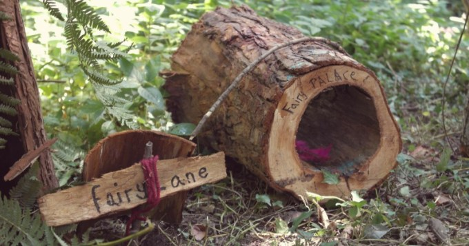Fairy Houses in the Dingly Dell, Camp Bestival
