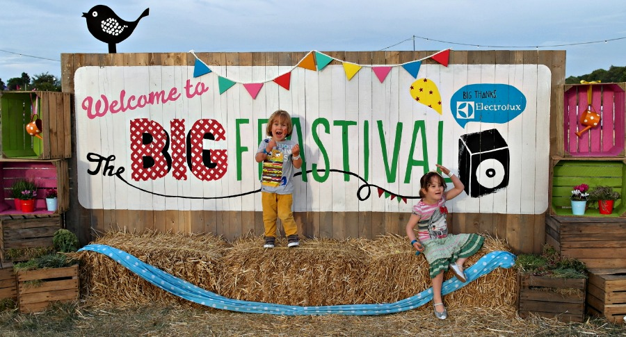 Jamie Oliver and Alex Jame The Big Feastival 2013