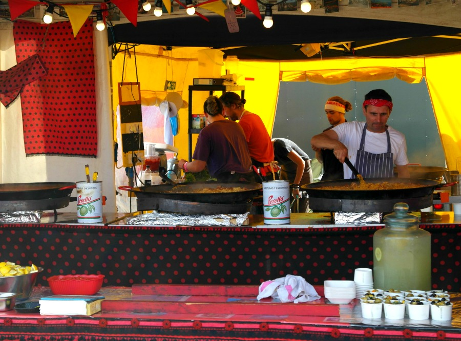 Food at The Big Feastival