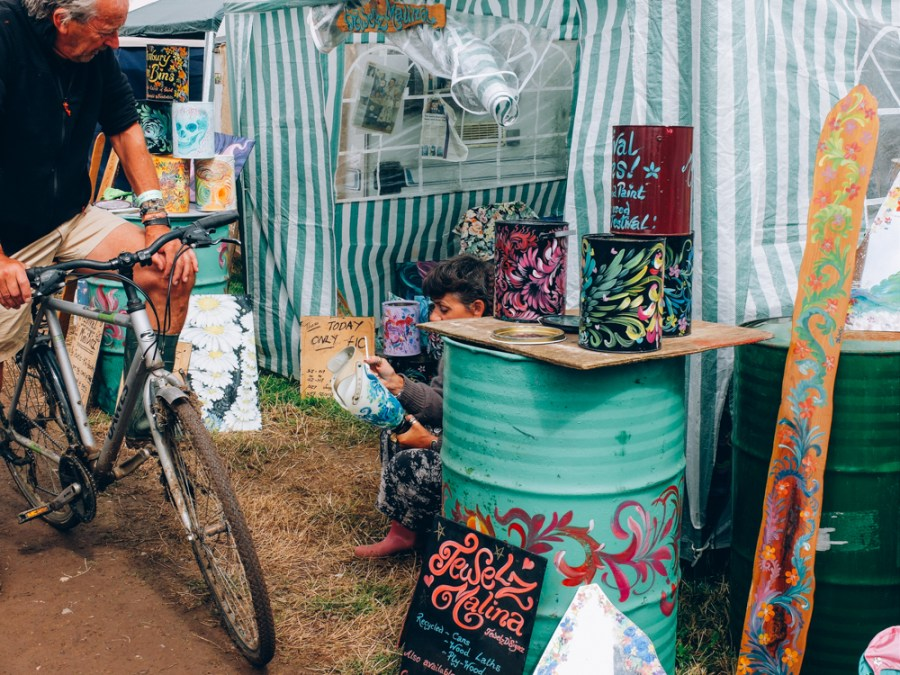 Photos of The Greencrafts Village, Glastonbury Festival 2015