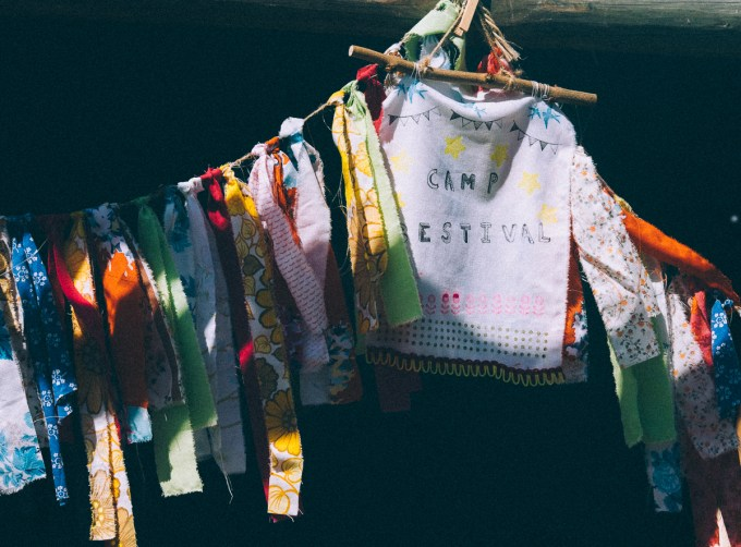 Camp Bestival Bunting