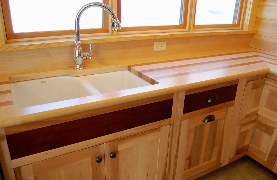 Counters + Tops — NEWwoodworks on Best Countertops For Maple Cabinets  id=70721