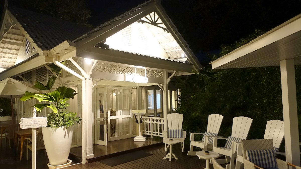 Suan Bua is a gem of a restaurant set within the villa compound at Centra Grand