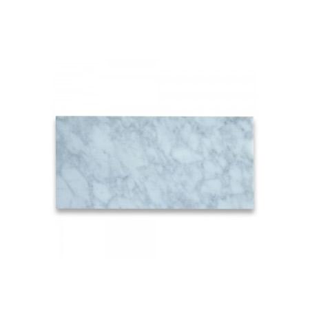 carrara white 6x12 subway tile honed art tile