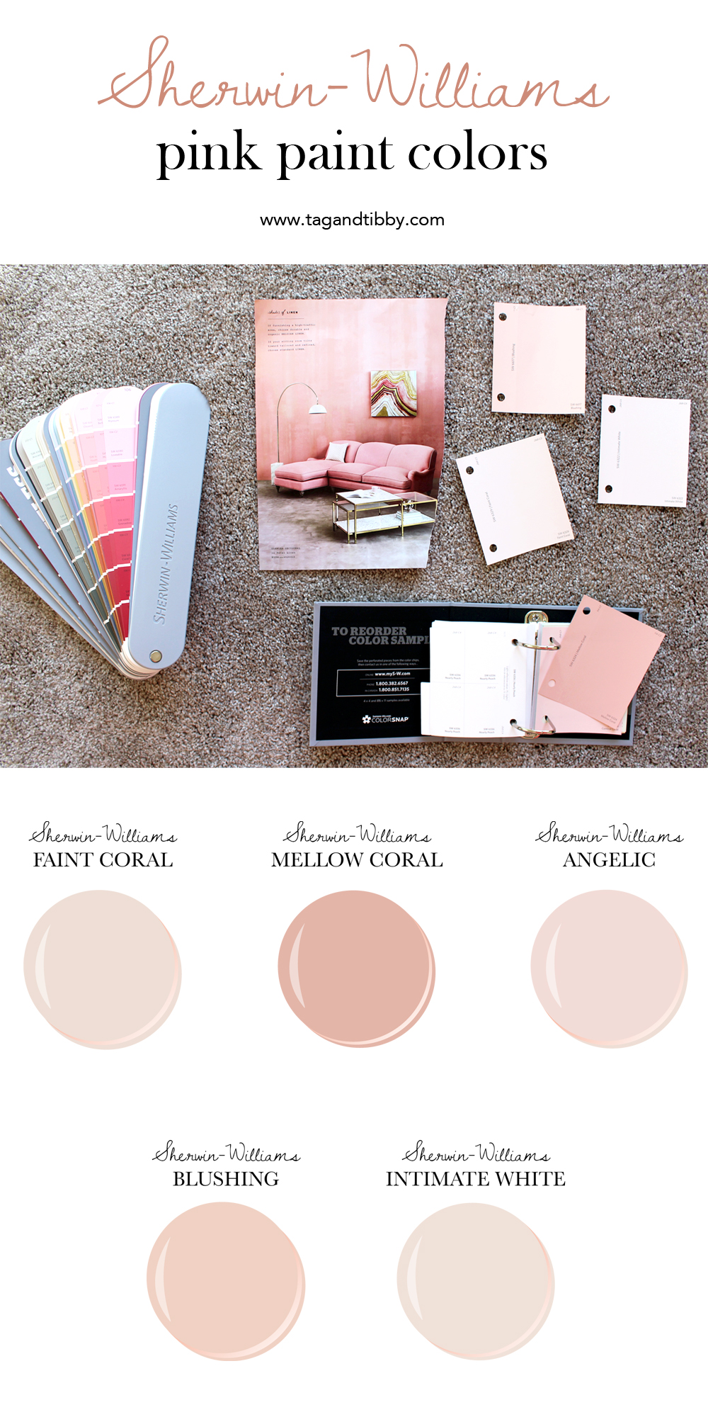 the best 5 pink paint colors tag tibby on paint colors by sherwin williams id=93309