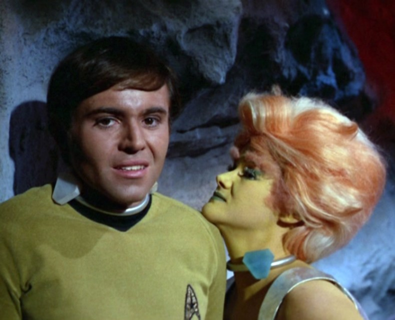 Chekov is worried.