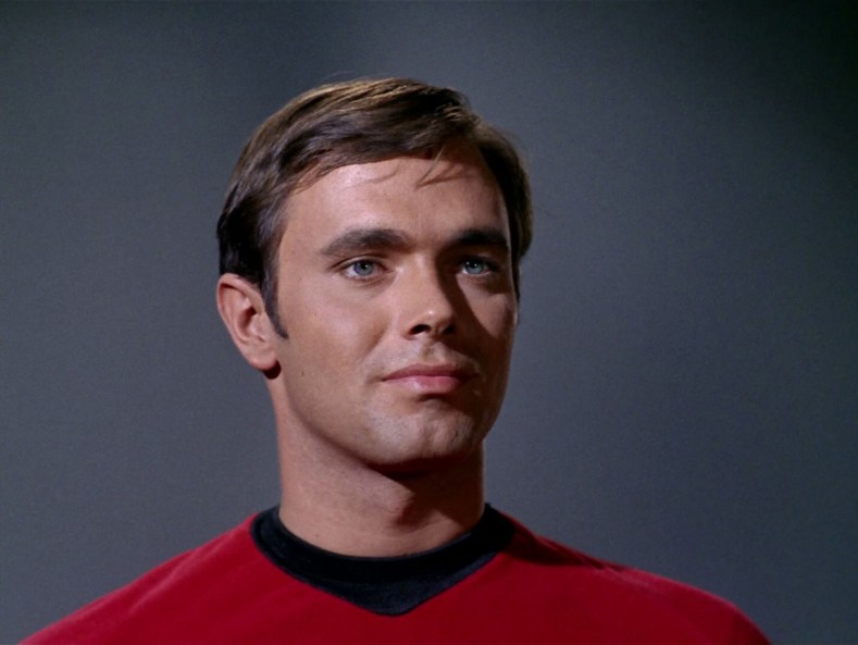 Ensign Garrovick is dreamy.