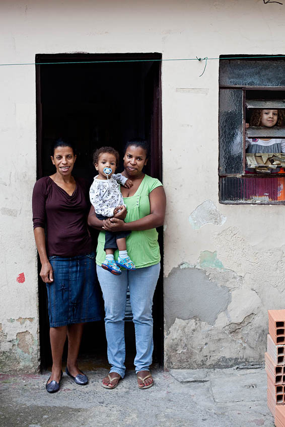 Middle-class Family in Favela Heliopolis, São Paulo, Brazil