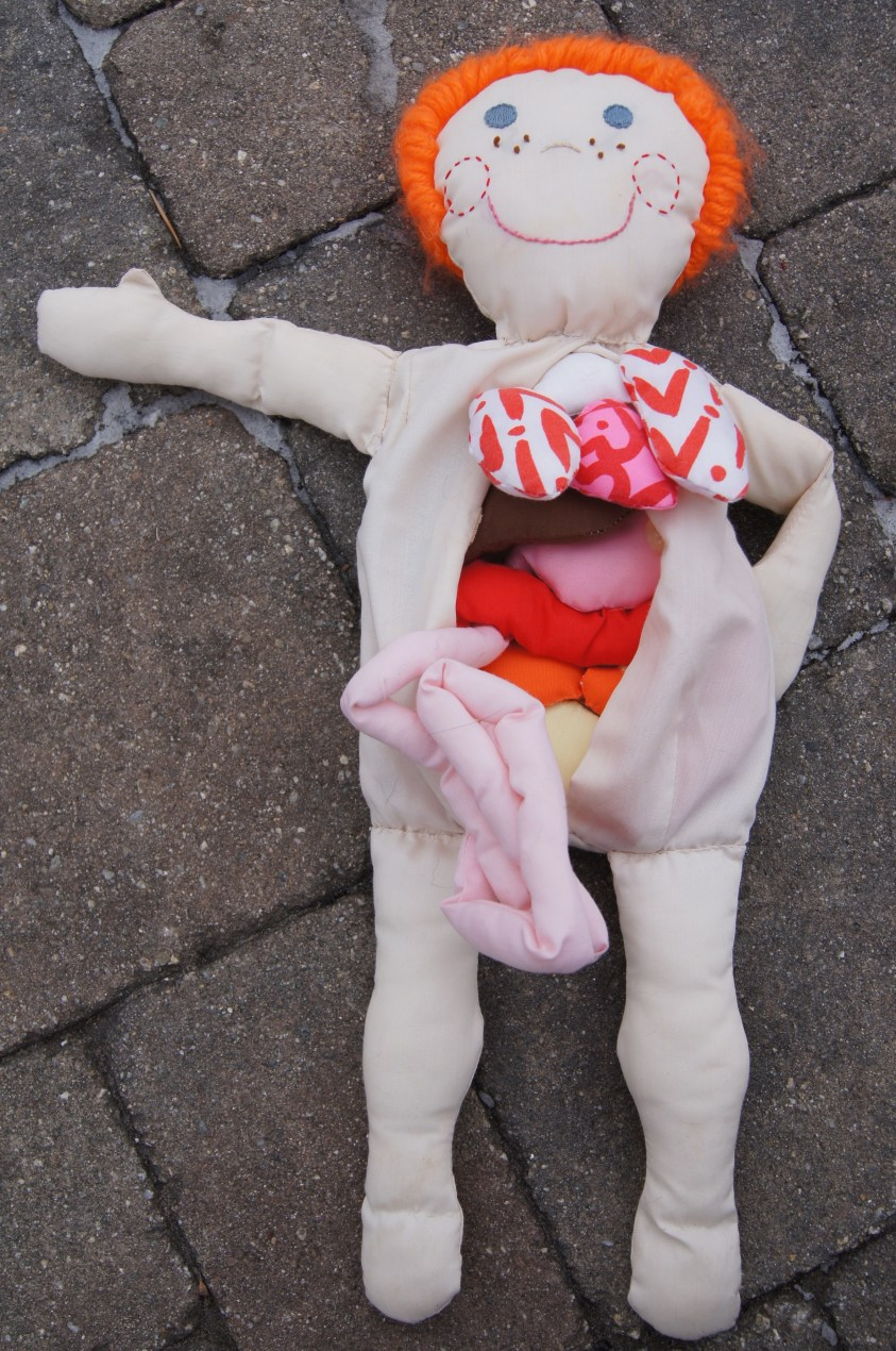 Fabric Dolls--Episode Three. Dolls I designed as Child ...