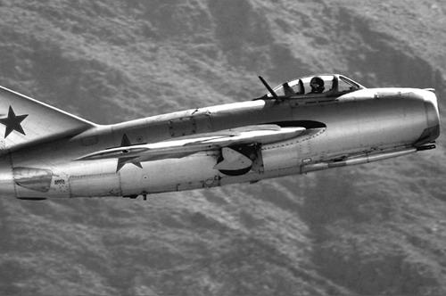 MIG-15 Over North Korea. Source