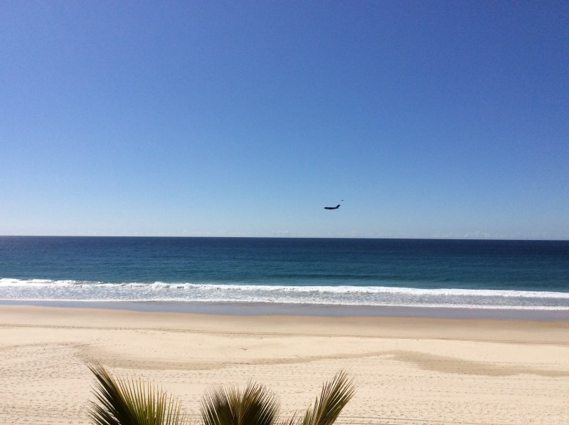 Cruising past the Gold Coast