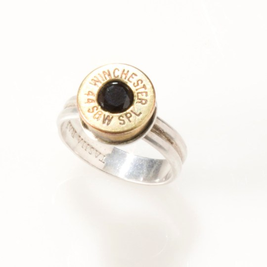 44 Win Black Double Band Ring     Tasha Rae Jewelry 44 Win Black Double Band Ring