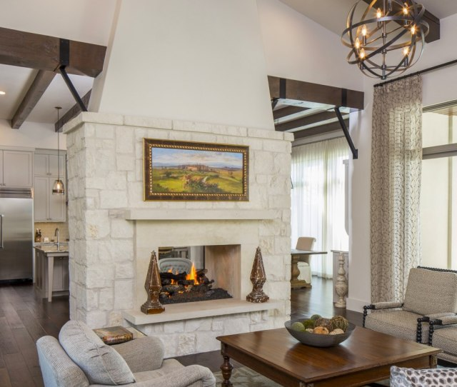 Architecture Home Contemporary European Farmhouse  Family Room