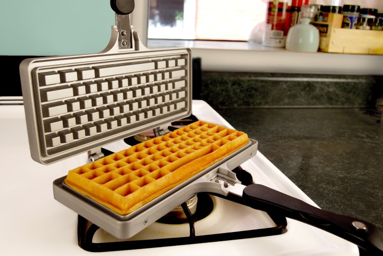 Source: The Keyboard Waffle Iron