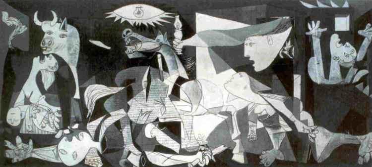 Picasso, Guernica í Prado safninu í Madrid