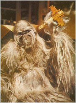 Chewbacca's father Itchy