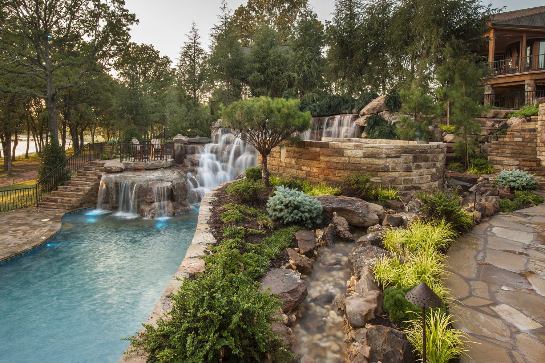 Boulder Pool — Caviness on Mountain Backyard Ideas id=86209