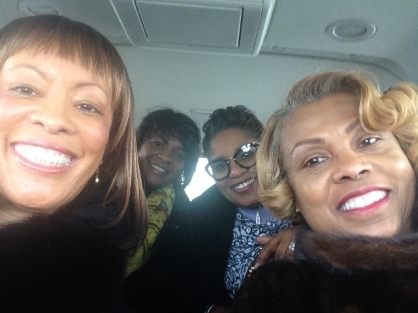 Four Friends l-r Dr. Karen Bethea, Rev. Monique Carter, First Lady Wanda Smith & First Lady Jacqueline Brown