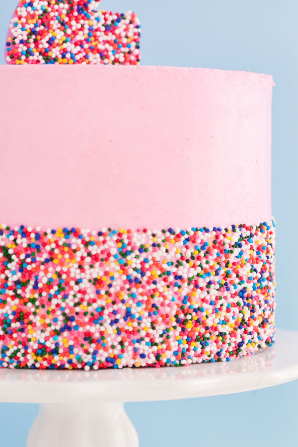 Ultimate Diy Sprinkle Cake Sprinkles For Breakfast