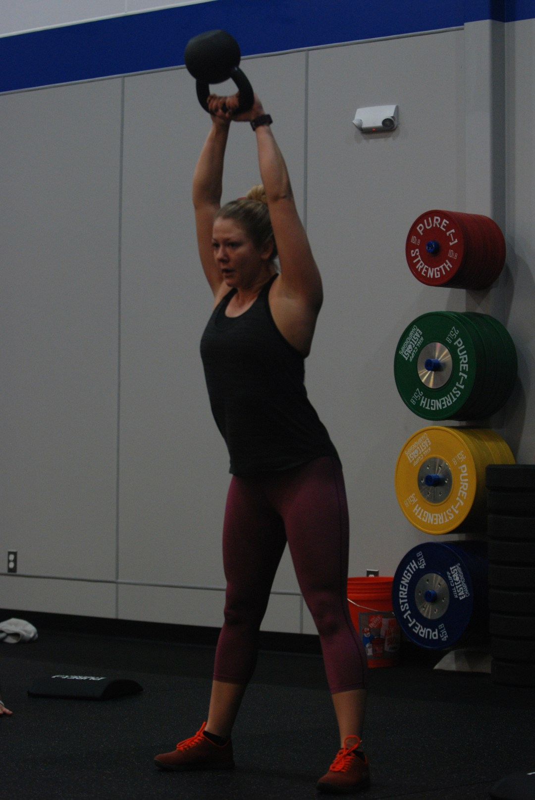 Brittney eats kettlebell swings for breakfast..and eggs..and maybe some bacon...ok and maybe some fruit and guac.