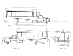 GM33 Shuttle Bus   Ford F550 Chassis   Grech Motors